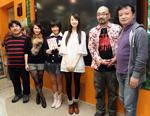イベントに登場したメンバー。左から井口昇、谷澤恵里香、野元愛、團遥香、西村喜廣、鹿角剛司