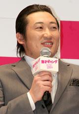 映画『漫才ギャング』のジャパンプレミアに出席したロバート・秋山竜次