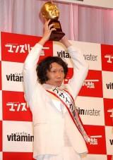 『よしもと男前ブサイクランキング2011』「ブサイク」部門V3を達成し殿堂入りしたカリカ・家城啓之 (C)ORICON DD inc.