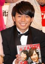 『よしもと男前ブサイクランキング2011』「男前」部門2位のピース・綾部祐二 (C)ORICON DD inc.