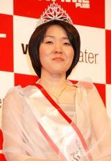 『よしもと男前ブサイクランキング2011』「ぶちゃいく」部門1位の隅田美保 (C)ORICON DD inc.