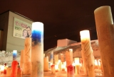 Candle JUNE氏のキャンドルに灯されて… 『第21回ゆうばり国際ファンタスティック映画祭2011』が開幕 (C)ORICON DD inc.