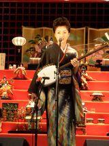 約6年ぶりの三味線立ち弾き曲「博多山笠女節」を披露した長山洋子