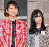 NHK新番組『資格☆はばたく』に4月ゲストとして出演する(左から)有吉弘行、AKB48指原莉乃 (C)ORICON DD inc.