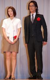 帝国劇場開場100周年記念パーティーに参加した(左から)瀬奈じゅん、橋本さとし (C)ORICON DD inc.