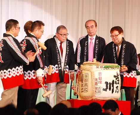 加藤茶のデビュー50周年記念パーティーの模様 (C)ORICON DD inc.
