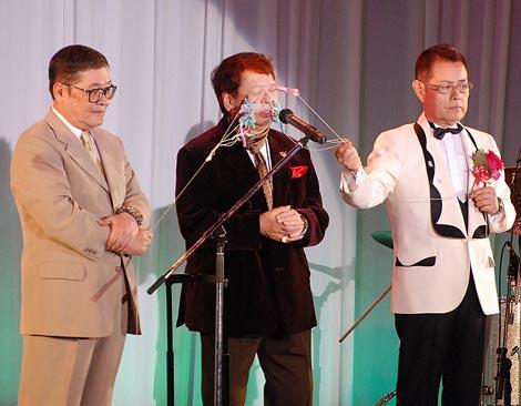 加藤茶のデビュー50周年記念パーティーの模様 いかりや長介さん亡き後、ドリフ4人が初コントを行った (C)ORICON DD inc.