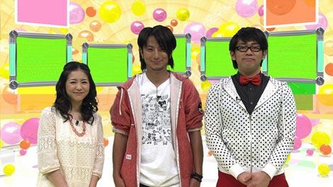 ゴールデンに昇格した『潜入!リアルスコープ』に出演している(左から)関根麻里、上地雄輔、ビビる大木 (C)フジテレビジョン