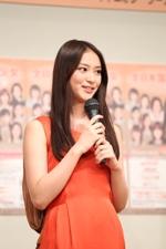 06年の第11回大会のモデル部門賞とマルチメディア賞の武井咲。4月からはドラマ『アスコーマーチ!』で連ドラ初主演。