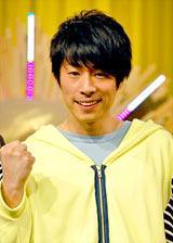 NHKのバラエティー番組『SHIBUYA DEEP A』の記者会見に出席したロンドンブーツ1号2号・田村淳