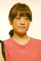 映画『津軽百年食堂』の完成披露試写会の舞台あいさつに登壇した福田沙紀