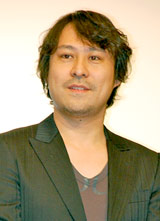 映画『津軽百年食堂』の完成披露試写会の舞台あいさつに登壇した前田倫良