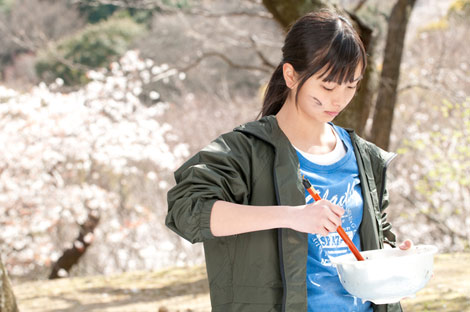 映画『青い青い空』での相葉香凛の可愛い画像