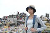 主演ドラマ『ハガネの女』のため、フィリピン・マニラで海外ロケを行った吉瀬美智子