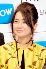 ドラマW『遠い日のゆくえ』の番組発表会見に出席した風吹ジュン
