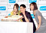 ドラマW『遠い日のゆくえ』の番組発表会見に出席した永山絢斗の誕生日を祝福