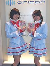 オリコンを訪問した工藤真由(左)と池田彩(右)(C)ORICON DD inc.