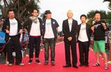 『第3回沖縄国際映画祭』のレッドカーペットセレモニーに登場した『ゴーストライター・ホテル』のキャストたち (C)ORICON DD inc.