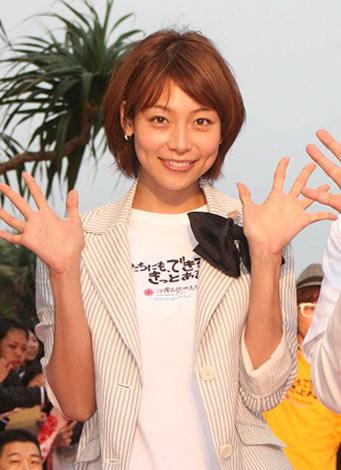 『第3回沖縄国際映画祭』レッドカーペットに来場した相武紗季 (C)ORICON DD inc.