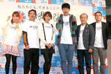 映画『FLY!〜平凡なキセキ〜』の舞台あいさつの模様 (C)ORICON DD inc.