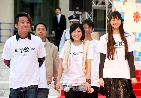 映画『ほしのふるまち』の(左から)川野浩司監督、児玉絹世、山下リオ (C)ORICON DD inc.