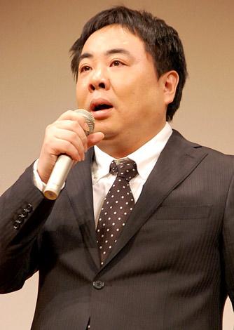 映画『高校デビュー』公開直前イベントに出席したドランクドラゴン・塚地武雅 (C)ORICON DD inc.