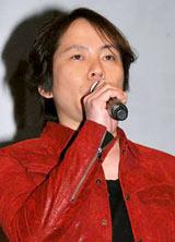 テレビアニメ『トリコ』の製作発表会に出席した置鮎龍太郎