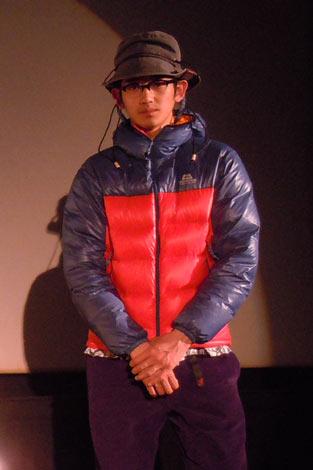 福岡で実施した『まほろ駅前多田便利軒』の試写会に急きょ参加した瑛太