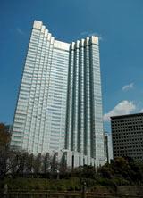 閉館した『グランドプリンスホテル赤坂』の外観 (C)ORICON DD inc.