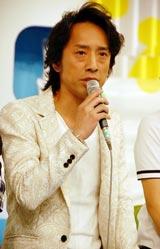 新番組『ZIP!』(日本テレビ系)初回放送終了後、インタビューに応じた筧利夫 (C)ORICON DD inc.