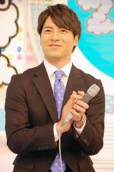 新番組『ZIP!』(日本テレビ系)初回放送終了後、インタビューに応じたメインMCの桝太一アナウンサー (C)ORICON DD inc.