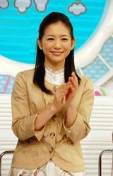 新番組『ZIP!』(日本テレビ系)初回放送終了後、インタビューに応じたメインMCの関根麻里 (C)ORICON DD inc.