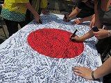 「コスタリカから日本への寄せ書き」(『PRAY FOR JAPN-3.11 世界中が祈りはじめた日-』より)