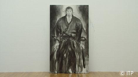『カップヌードル』の新CMのために井上雄彦が描いた武蔵
