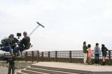市民の声で撮影へ、東日本大震災で被害を受けた千葉県・浦安市内行われた映画『カルテット!』のロケ模様 (C)ORICON DD inc.
