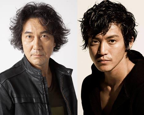 映画『キツツキと雨(仮)』で初共演を果たす役所広司(写真左)と小栗旬