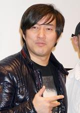 映画『エンジェル ウォーズ』の公開記念トークイベントに出席した須田剛一氏