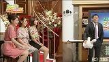 TBSの女性アナウンサー(左手前から)佐藤渚、田中みな実、出水麻衣とメインMC・明石家さんま