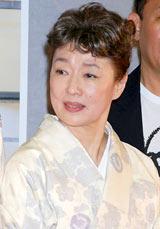 NHK朝の連続テレビ小説『どんど晴れ スペシャル』の会見に出席した宮本信子