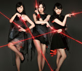 Perfumeの両A面シングル「レーザービーム/微かなカオリ」(初回限定盤)