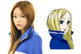 『荒川アンダー ザ ブリッジ』でニノ役を演じる桐谷美玲 (C)中村光/スクウェアエニックス・AUTBパートナーズ