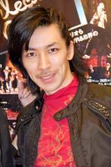 米・ニューヨークのダンサー集団『THE MOVEMENT』の日本初上陸公演前に報道陣のインタビューに応じたTAKAHIRO