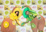 『2011 初摘みニュージーランド産キウイ試食会』に出席したフウジンライジン