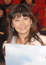 ドラマ「浅見光彦シリーズ」の第40弾『棄霊島』の完成披露舞台あいさつに登壇した南野陽子
