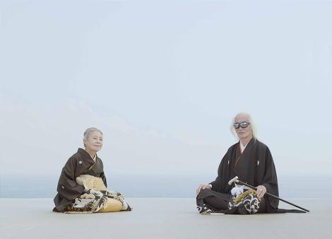 サムネイル 『ゼクシィ』のCMで夫婦初共演を果たした内田裕也(右)と樹木希林