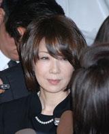 人気アイドルグループ・キャンディーズの元メンバーで女優の田中好子さんの通夜で、「もう1回3人で会いたかった」と別れをしんだ伊藤蘭 (C)ORICON DD inc.