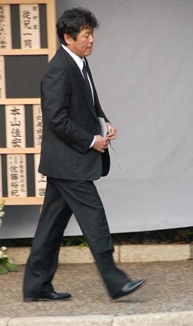元キャンディーズで女優・田中好子さんのお通夜に参列した赤井英和 (C)ORICON DD inc.