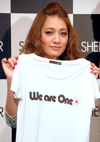 セレクトショップ『SHEL'TTER 渋谷店』出店記念イベントに参加した仁科仁美 (C)ORICON DD inc.