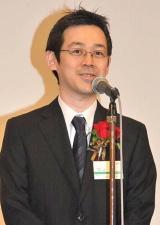 『第1回ダ・ヴィンチ電子書籍アワード2011』特別賞を受賞した『Jコミ』代表の漫画家・赤松健氏 (C)ORICON DD inc.