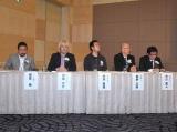 『第1回ダ・ヴィンチ電子書籍アワード2011』発表会に出席した、市川真人ら審査員 (C)ORICON DD inc.